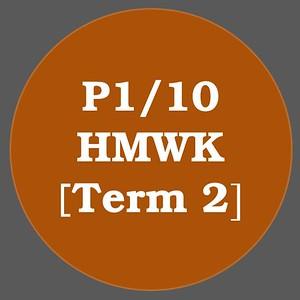 P1/10 HMWK T2