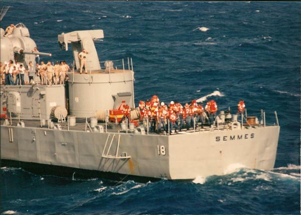USS Semmes DDG-18