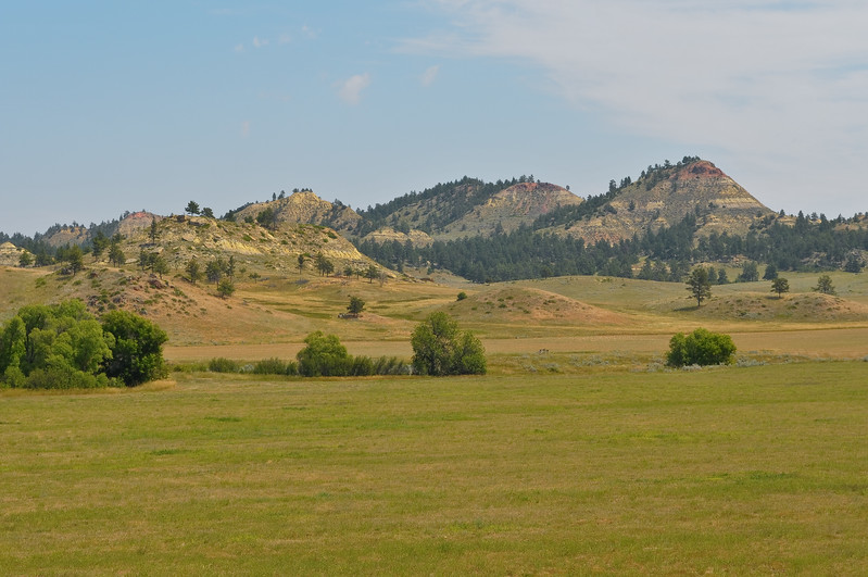 Near Broadus Montana