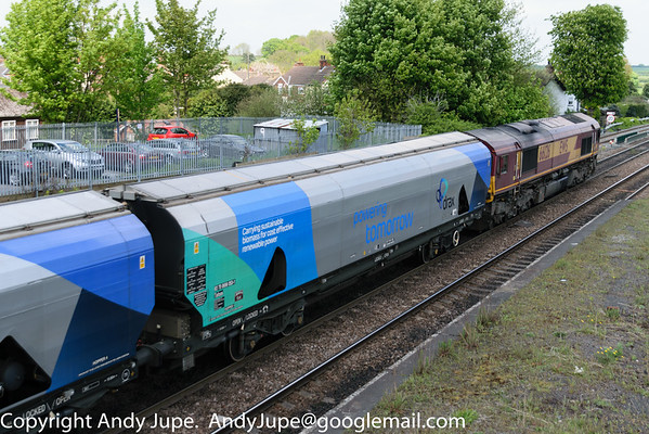 IIA (Tafoos) - Bogie Hopper Wagon (Biomass)