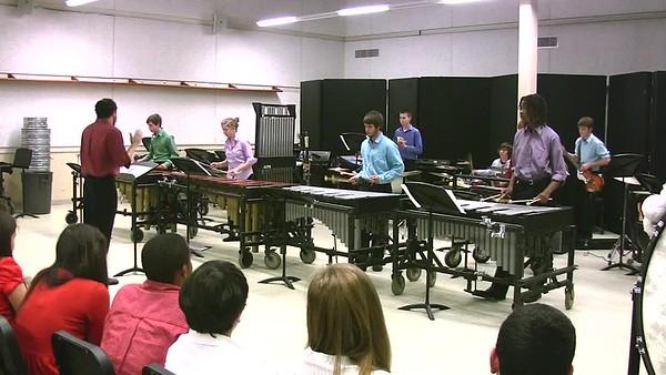 2011-11-29 RHS Percussion Ensemble