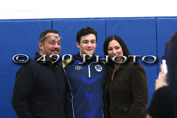 Wrestling - Mahopac Senior Night vs. Carmel 011019
