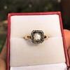 .53ctw Rose Cut Halo Ring, by Single Stone 34