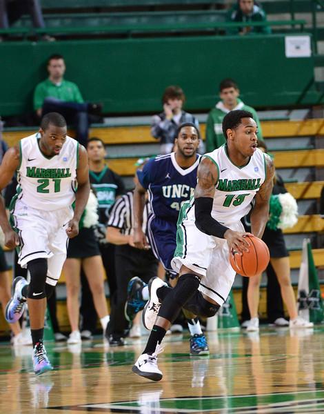 Basketball- Men's vs. UNCW 2013-Rick Haye