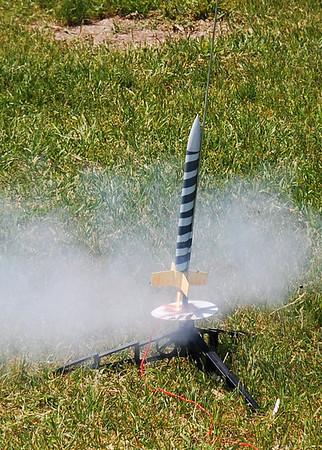 Cub scout rocket launch 2011