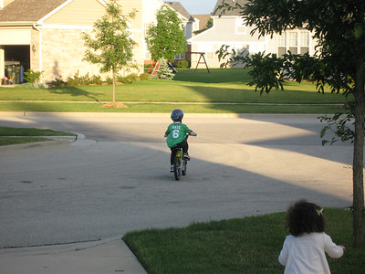Nate on a Two Wheeler