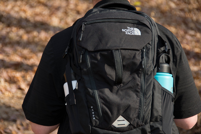 north face surge backpack