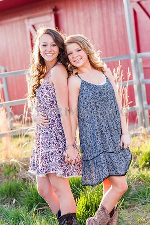 Class of 2015 Hannah &Sammi