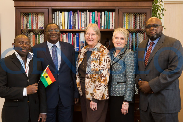 Ghana Minister of Employment and Labor Visit