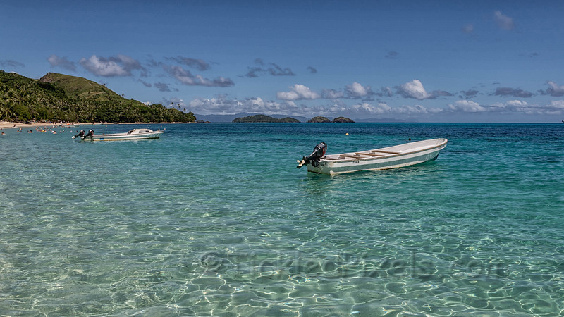 Clear Waters off Dravuni Island