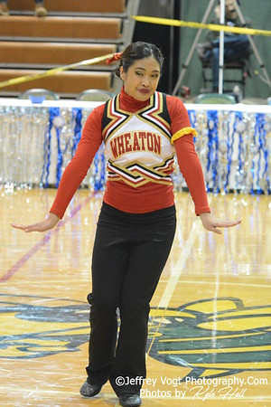 1-17-2015 Wheaton HS Varsity Poms at Damascus HS Invitational, MCPS Championship, Photos by Jeffrey Vogt Photography with Kyle Hall