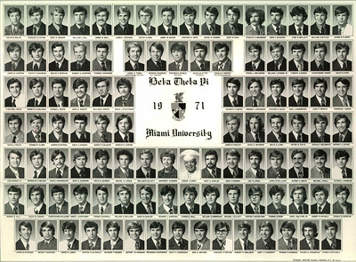 Alpha Chapter Composites: 1970-1989