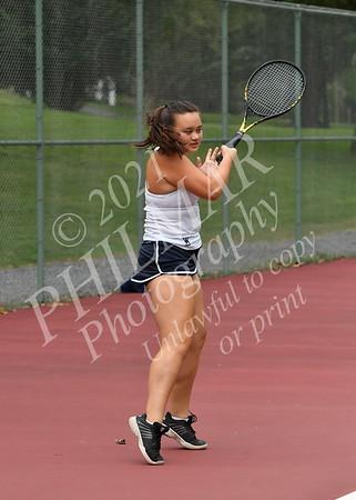 Wyomissing vs Berks Catholic Girls Tennis 21 - 22