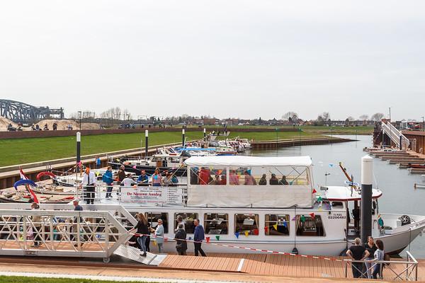 Jachthaven Noorderhaven, ingebruikname