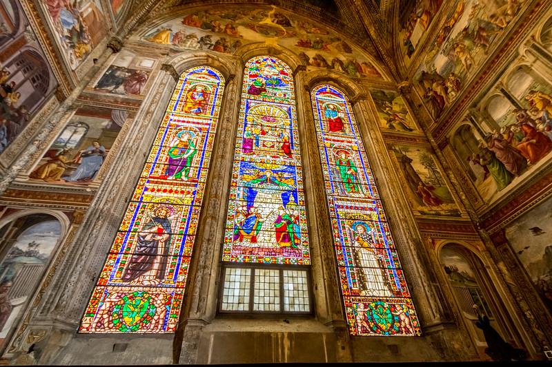 Tornabuoni Chapel in Santa Maria Novella, Florence, Italy