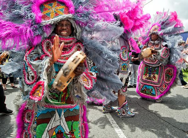 2012 Super Sunday Mardi Gras Indian