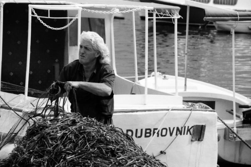 Dubrovnik Fisherman - Croatia