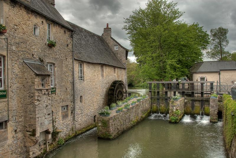 St-Mere-Eglise, Bayeux HDR, France