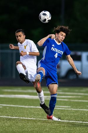 2019.05.02 Boys Soccer: Loudoun Valley @ Park View