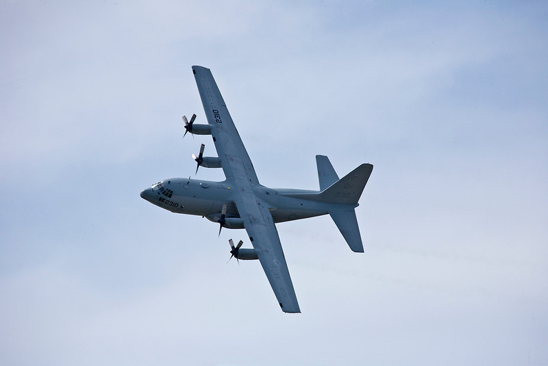 Blue Angels C-130 (Fat Albert was nowhere to be seen)