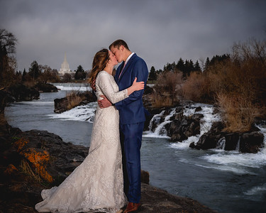 Ashley and Brigham Bridals for print