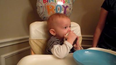 ben's first birthday