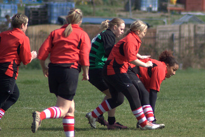Stanford Ladies 10 Thames Ladies 47 - 4th April 2009