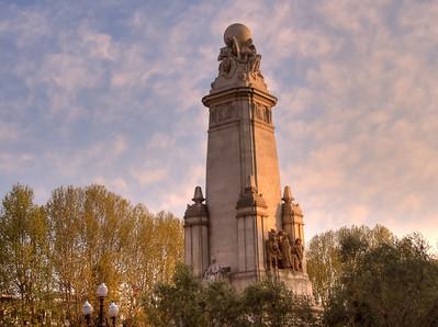 Madrid, Barcelona, Rome