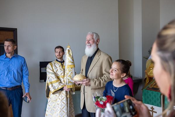 Enthronement of Bishop Gerasim