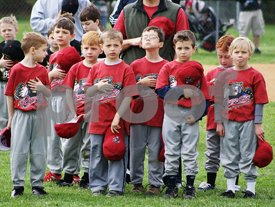 East Granby LL Opening Day Ceremonies 043011