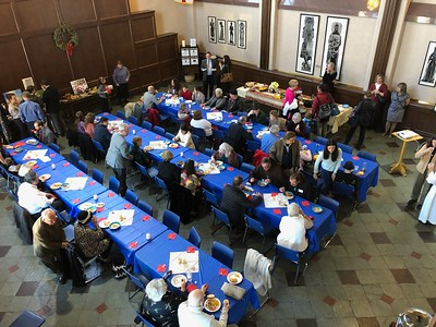 Colorado Haiti Project Lunch at Grace & St Stephen's - 12/30/18