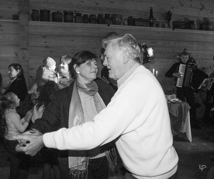 Julija Šliažienė ir Valdas Adamkus