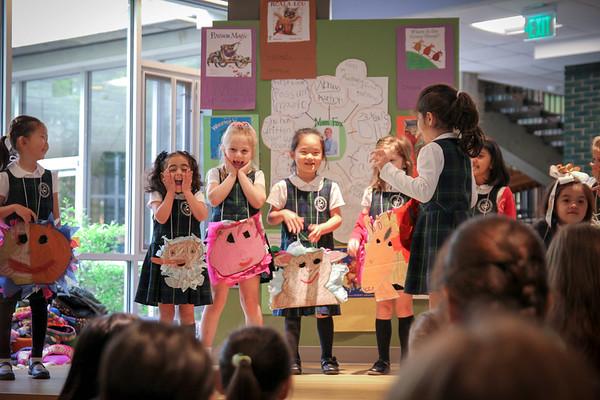 Kindergarten Poetry Presentation