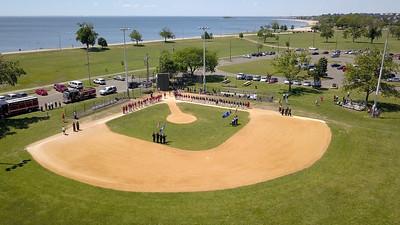 Bridgeport American Legion Baseball's Salute to Public Servants (6/16/18)