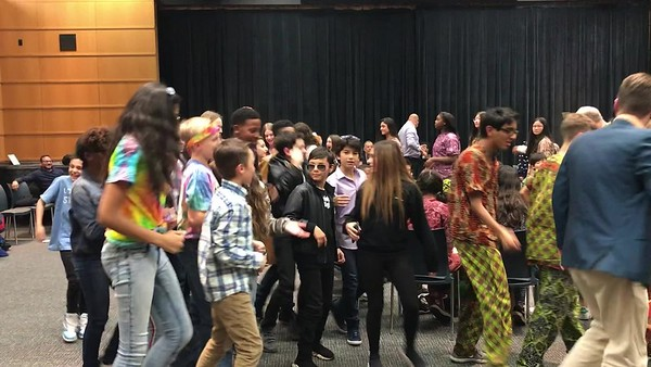 12.13.18 Winter Arts 2018: MS Choral/African Drumming  &  Dance