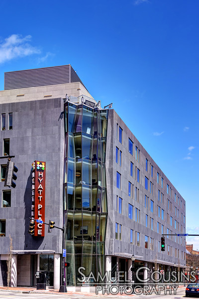 """The new """"Hyatt Place"""" hotel in Portland's Old Port."""