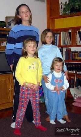 Thanksgiving / Chanukah 2002 Visits
