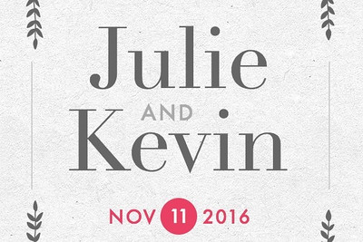 Kevin & Julie 11/11/16