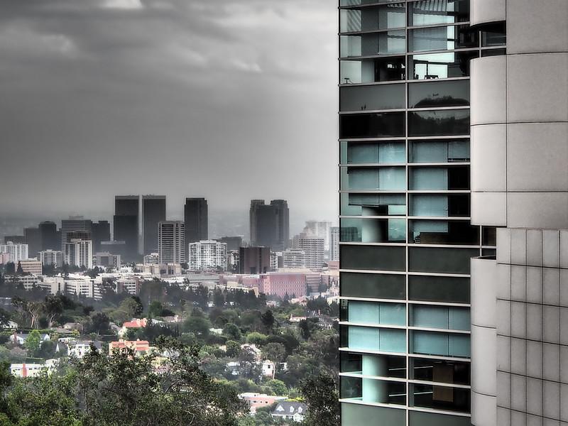 OVERLOOKING WEST LOS ANGELES