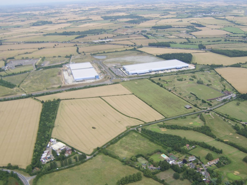 Updated photo's of the John Lewis & River Island Distribution Centers, Magna Park, Milton Keynes