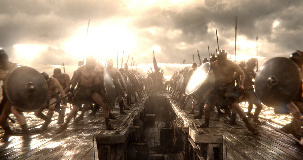 """. A scene from Warner Bros. Pictures� and Legendary Pictures� action adventure � \""""300: Rise Of An Empire,\"""" a Warner Bros. Pictures release."""