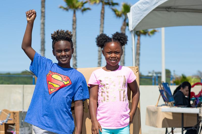 Beach Fun-A-Palooza at Dockweiler Youth Center. beaches.lacounty.gov.   Photo by VenicePaparazzi.com