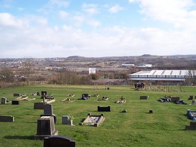 2005-03-05 Working in Wolstanton Churchyard part 3