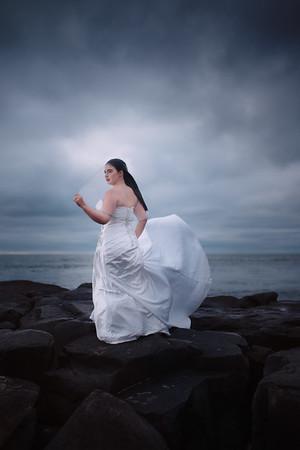 Bridal Portraits in OCMD