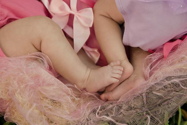 Newborn Twins Emma & Violet