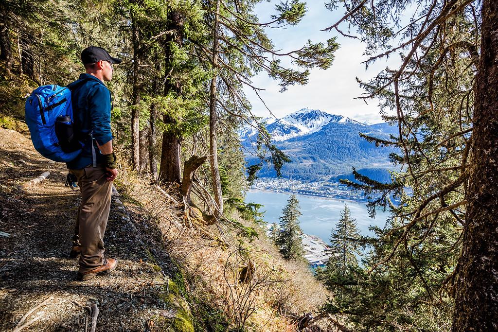 Hiking Mount Roberts in Juneau, Alaska