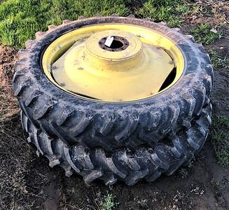 12.4-42 Titan Hi Traction Lug tires (2)#65