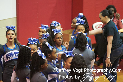 10-27-2018 James H. Blake High School at MCPS D2 Cheerleading Championship at Montgomery Blair High School, Photos by Jeffrey Vogt Photography