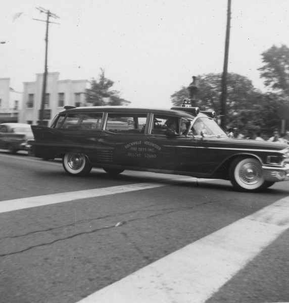 Rockville Memorial Parade  May 1960 Ambulance