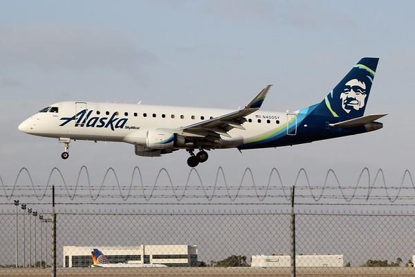 Alaska Airlines Regional (AS + OO/QX)